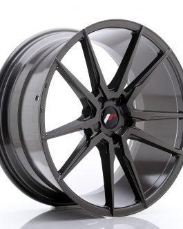 JR Wheels JR21 21×10 ET15-48 5H Blank Hyper Gray