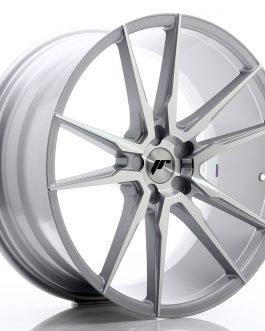 JR Wheels JR21 21×10 ET15-48 5H BLANK Silver Machined Face