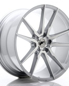 JR Wheels JR21 21×11 ET15-55 5H BLANK Silver Machined Face