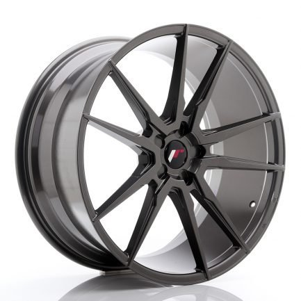 JAPAN RACING JR Wheels JR21 22x10,5 ET15-52 5H BLANK Hyper Gray 10.50x22