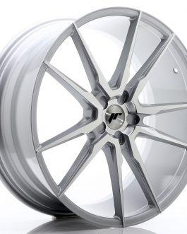 JR Wheels JR21 22×9,5 ET30-48 5H BLANK Silver Machined Face