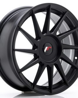 JR Wheels JR22 17×7 ET35-40 BLANK Matt Black