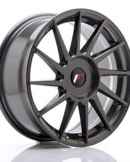 JR Wheels JR22 17×7 ET35-40 BLANK Hyper Gray