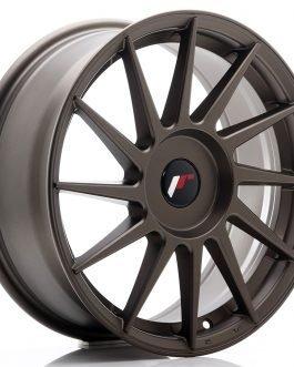 JR Wheels JR22 17×7 ET35-40 BLANK Matt Bronze