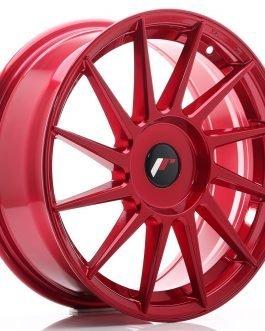 JR Wheels JR22 17×7 ET35-40 BLANK Platinum Red