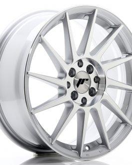 JR Wheels JR22 17×7 ET25 4×100/108 Silver Machined Face