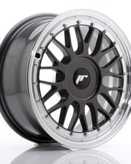 JR Wheels JR23 16×7 ET20-45 BLANK Hyper Gray w/Machined Lip