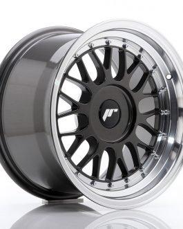 JR Wheels JR23 16×9 ET20-35 BLANK Hyper Gray w/Machined Lip