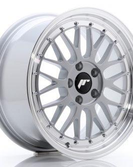 JR Wheels JR23 17×8 ET20 5×120 Hyper Silver w/Machined Lip