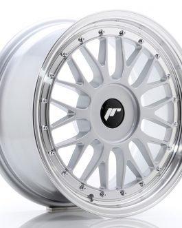 JR Wheels JR23 17×8 ET20-45 BLANK Hyper Silver w/Machined Lip