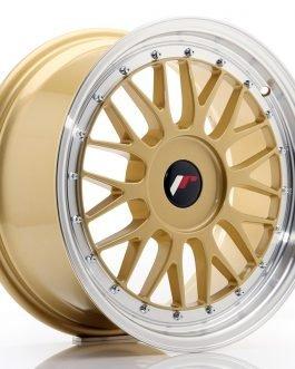 JR Wheels JR23 17×8 ET40-45 BLANK Gold w/Machined Lip