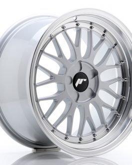 JR Wheels JR23 18×9,5 ET25-48 5H BLANK Hyper Silver w/Machined Lip