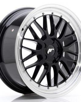 JR Wheels JR23 19×8,5 ET20-50 5H BLANK Gloss Black w/Machined Lip