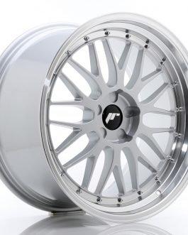 JR Wheels JR23 20×10,5 ET30-43 5H BLANK Hyper Silver w/Machined Lip
