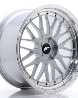 JR Wheels JR23 20×10 ET20-38 5H BLANK Hyper Silver w/Machined Lip