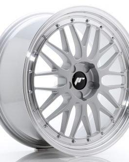 JR Wheels JR23 20×9 ET20-50 5H BLANK Hyper Silver w/Machined Lip