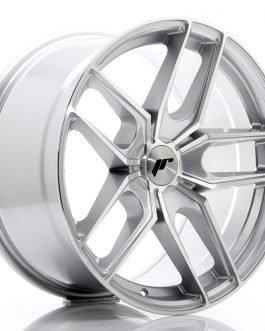 JR Wheels JR25 18×9,5 ET20-40 5H BLANK Silver Machined Face