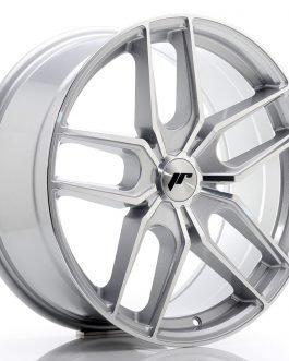 JR Wheels JR25 19×8,5 ET20-40 5H BLANK Silver Machined Face