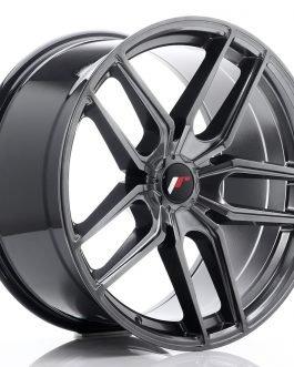 JR Wheels JR25 20×10 ET40 5H BLANK Hyper Black