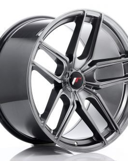 JR Wheels JR25 20×11 ET20-40 5H BLANK Hyper Black