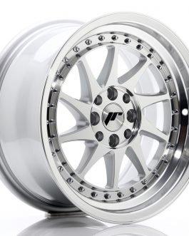 JR Wheels JR26 16×8 ET25 4×100/108 Silver Machined Face