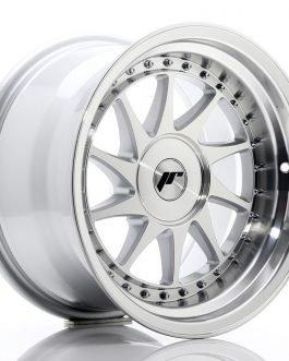 JR Wheels JR26 16×9 ET0-25 BLANK Silver Machined Face