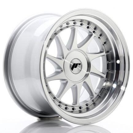 JAPAN RACING JR Wheels JR26 16x9 ET0-25 BLANK Silver Machined Face 9.00x16