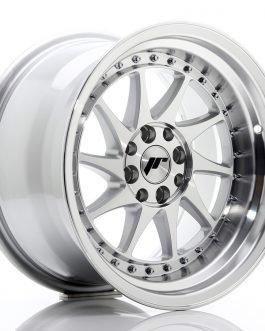 JR Wheels JR26 16×9 ET20 4×100/108 Silver Machined Face