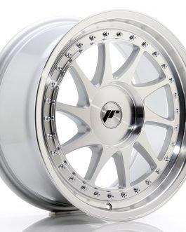 JR Wheels JR26 17×8 ET20-35 BLANK Silver Machined Face