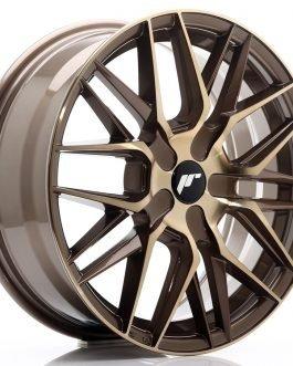 JR Wheels JR28 17×7 ET20-45 BLANK Platinum Bronze