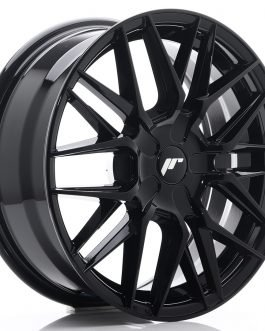 JR Wheels JR28 17×7 ET20-45 BLANK Glossy Black