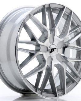 JR Wheels JR28 17×7 ET20-45 BLANK Silver Machined Face