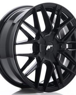 JR Wheels JR28 17×7 ET35-45 BLANK Glossy Black