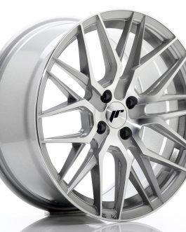 JR Wheels JR28 17×8 ET40 4×100 Silver Machined Face