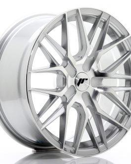 JR Wheels JR28 17×8 ET25-40 BLANK Silver Machined Face