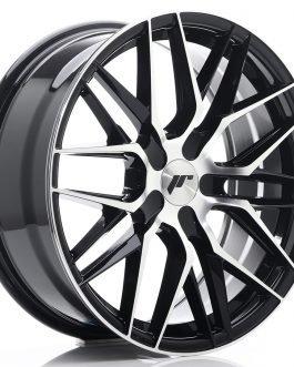 JR Wheels JR28 18×7,5 ET40 BLANK Gloss Black Machined Face