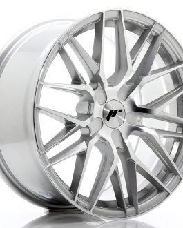 JR Wheels JR28 18×8,5 ET20-40 5H BLANK Silver Machined Face