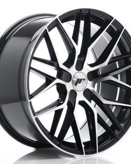 JR Wheels JR28 19×9,5 ET20-40 5H BLANK Gloss Black Machined Face