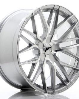 JR Wheels JR28 20×10 ET20-40 5H BLANK Silver Machined Face