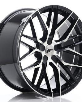 JR Wheels JR28 20×10 ET40 5H BLANK Gloss Black Machined Face