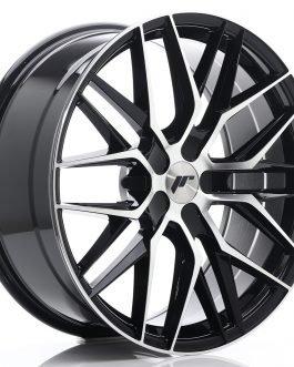 JR Wheels JR28 20×8,5 ET40 5H BLANK Gloss Black Machined Face