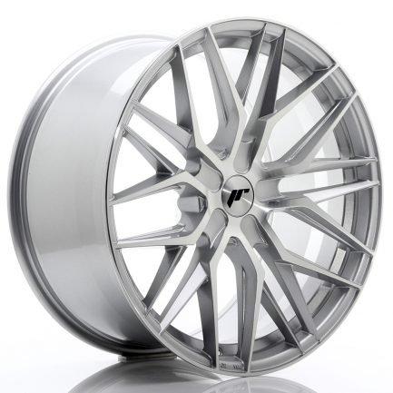 JAPAN RACING JR Wheels JR28 21x10,5 ET15-55 5H BLANK Silver Machined Face 10.50x21