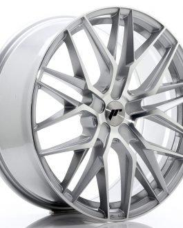 JR Wheels JR28 21×9 ET15-45 5H BLANK Silver Machined Face