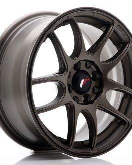 JR Wheels JR29 15×7 ET35 4×100/108 Matt Bronze