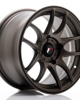 JR Wheels JR29 15×8 ET28-37 4H BLANK Matt Bronze