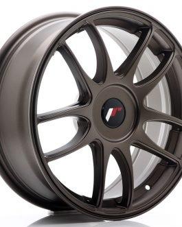 JR Wheels JR29 17×7 ET20-48 BLANK Matt Bronze