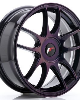 JR Wheels JR29 17×7 ET20-48 BLANK Magic Purple