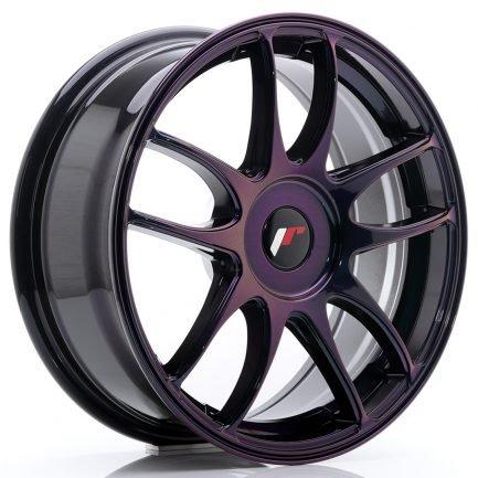JAPAN RACING JR Wheels JR29 17x7 ET20-48 BLANK Magic Purple 7.00x17