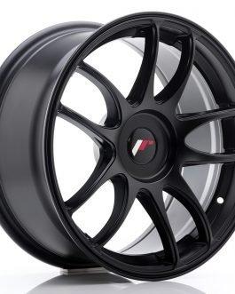 JR Wheels JR29 17×8 ET20-38 BLANK Matt Black