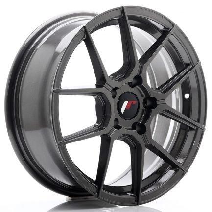 JAPAN RACING JR Wheels JR30 17x7 ET40 5x112 Hyper Gray 7.00x17